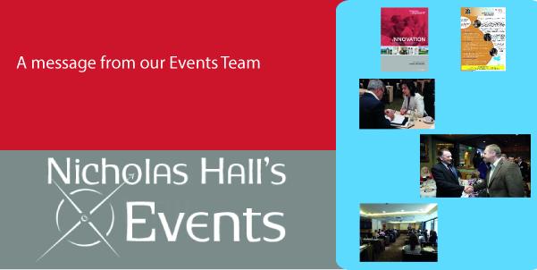 Events in OTC – Nicholas Hall Company Blog