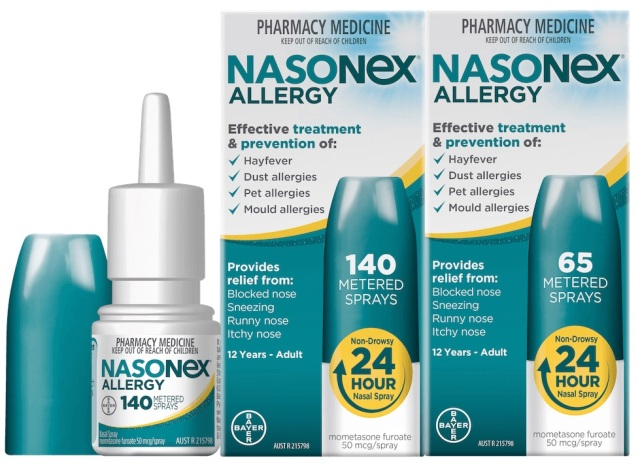 Alternative nasonex Nasacort vs.