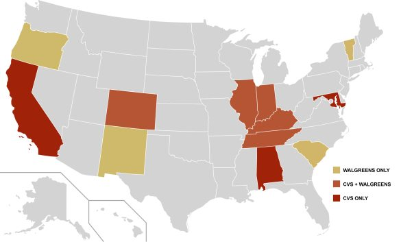 CBD states
